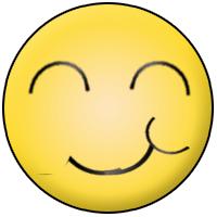 frech grinsender Smiley