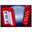 Harmonika Emoji U+1FA97