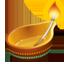 Öllampe Emoji U+1FA94