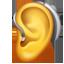 Hörgerät Emoji U+1F9BB