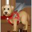 Blindenhund Emoji U+1F9AE