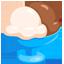 Eisbecher Emoji U+1F368