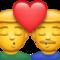 Küssende Männer Whatsapp U+1F468