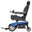 Elektro Rollstuhl Smiley U+1F9BC
