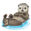 Otter Smiley U+1F9A6