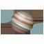 Planet Saturn Emoji U+1FA90