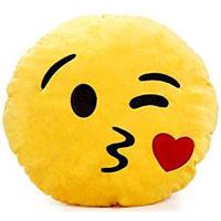 Whatsapp Kuss Smiley Kissen