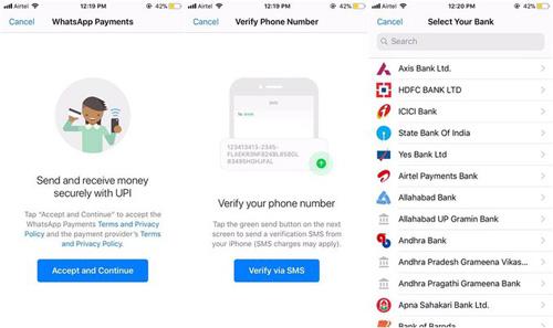 So funktioniert WhatsApp Payments