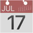 Kalender 17. Juli Emoji